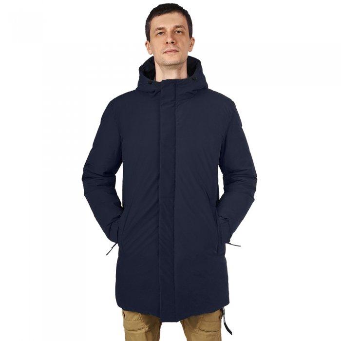 Bask Пальто пух ICEBERG LUX (темно-синий)