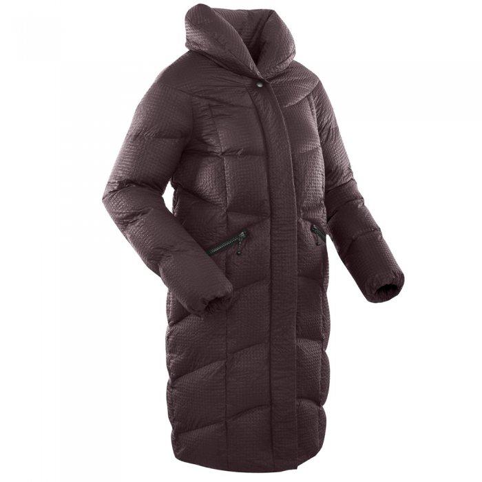 Bask Пальто женское пуховое Luna (темно-бордовый)