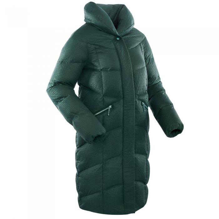 Bask Пальто женское пуховое Luna (темно-зеленый)