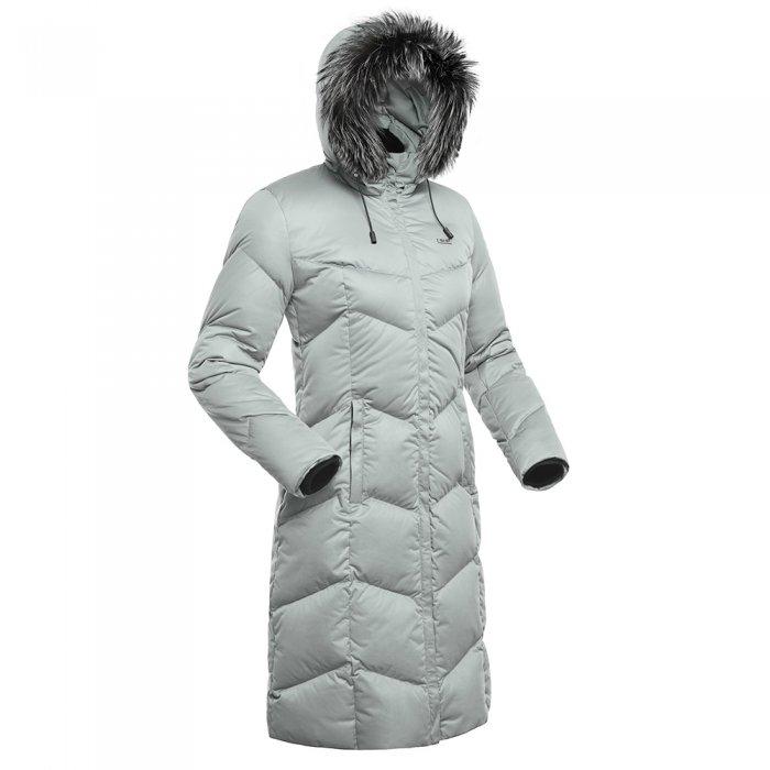 Bask Пальто пух Snowflake (серый)