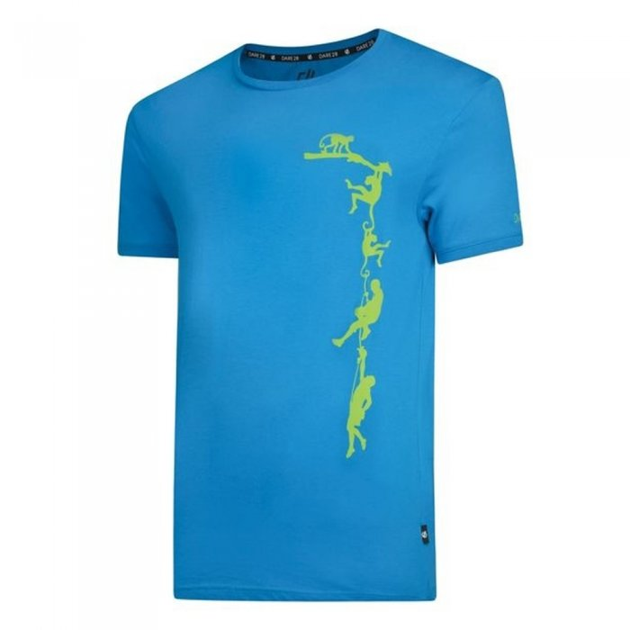 Dare2b футболка муж. Alarm Tee (зеленый)