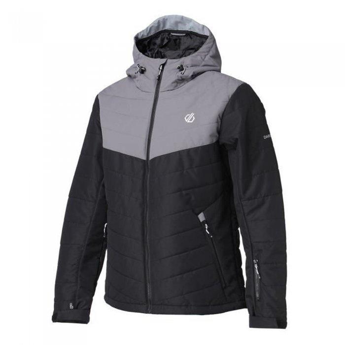 Dare2b куртка муж. Domain Jacket (черный/серый)