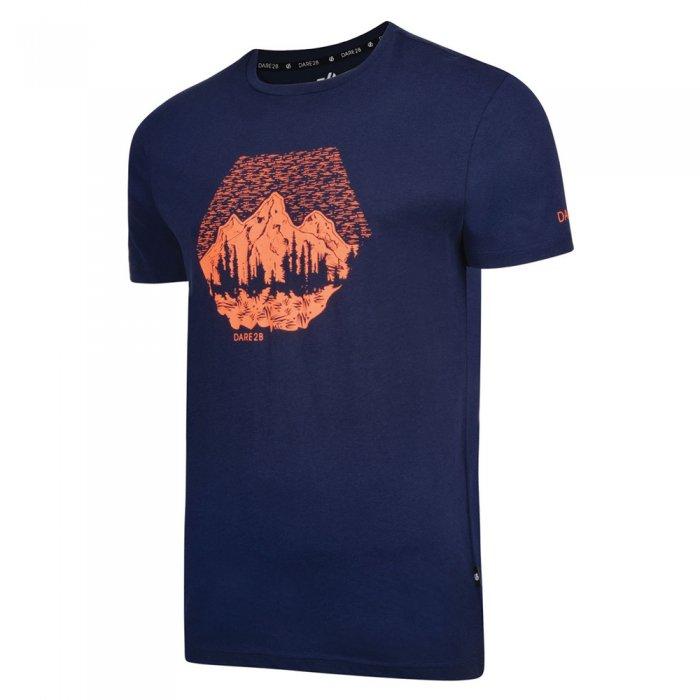 Dare2b футболка муж. Transferal Tee (синий)