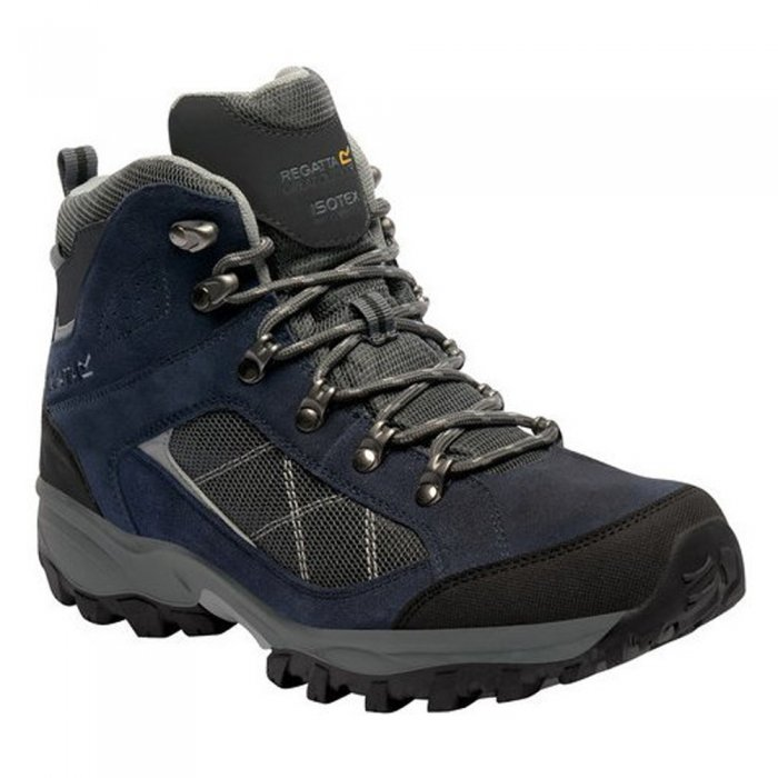 Regatta ботинки муж. Clydebank (темно-синий/серый)