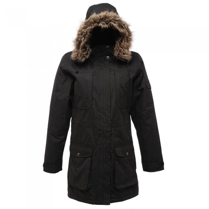 Regatta куртка жен. Hema Parka (черный)