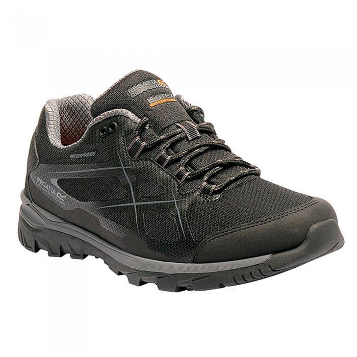 Regatta ботинки муж. Kota Low (черный)