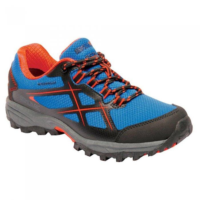 Regatta ботинки дет. Kota Low Jnr (синий/оранжевый)
