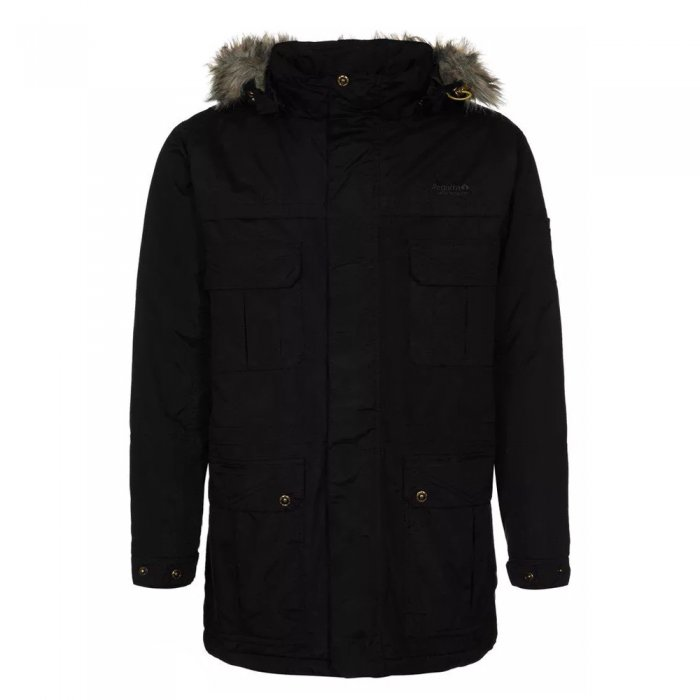 Regatta куртка муж. Landscape Parka (черный)