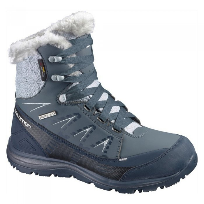 Salomon ботинки KAINA MID CS WP W (gy/bl/can )