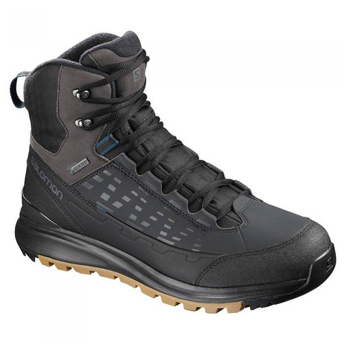 Salomon ботинки KAIPO MID GTX (bk/phantom/poseid )