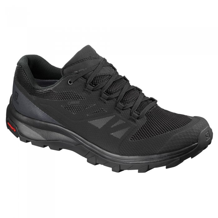 Salomon кроссовки муж. OUTline GTX (Black/Phantom/Magn)