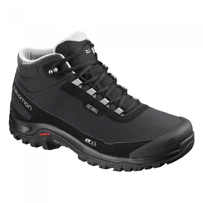 Salomon ботинки SHELTER CS WP W (bk/bk/eggshell b )