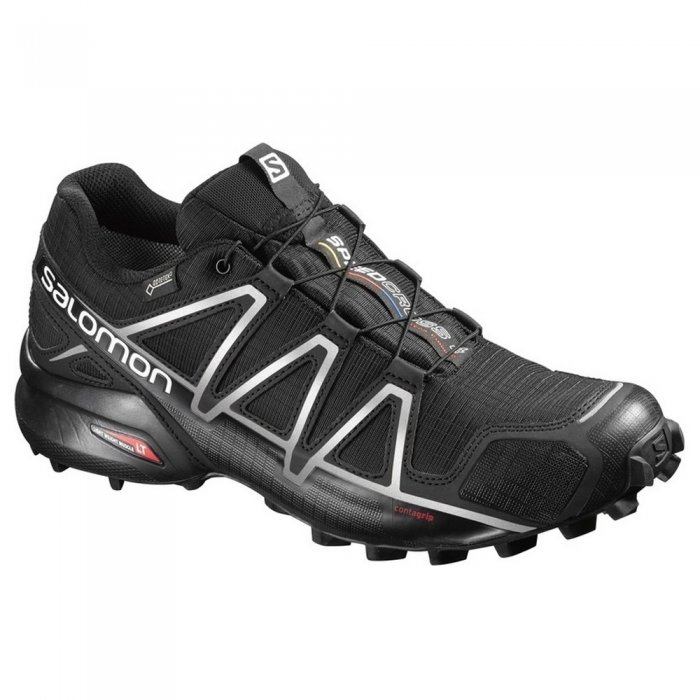 Salomon кроссовки муж. Speedcross 4 GTX (black/black/s )