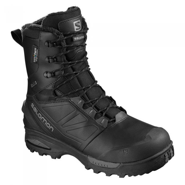 Salomon ботинки муж. TOUNDRA PRO CSWP (black/bk/magnet)