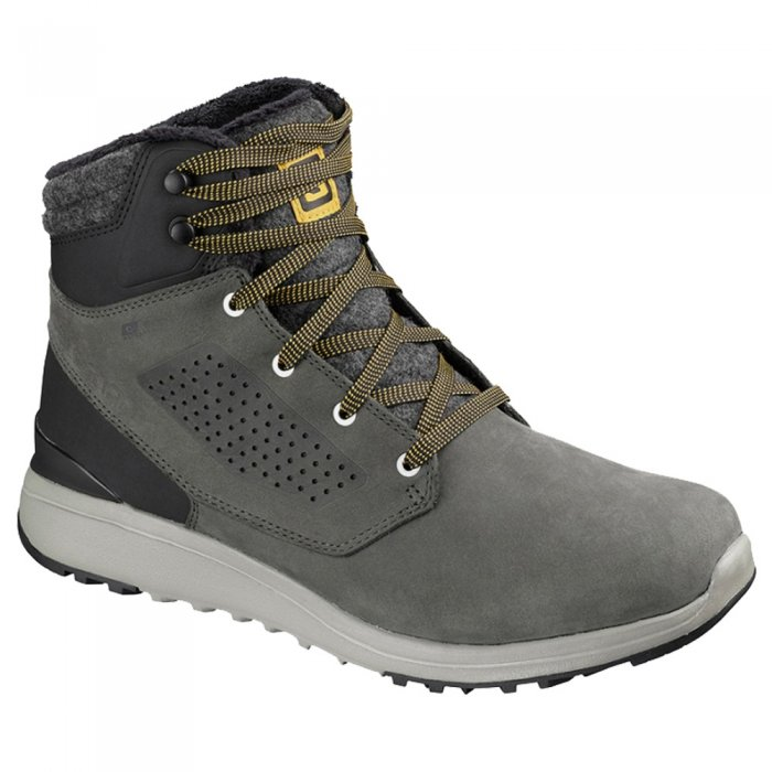 Salomon ботинки ULITY WINTER CS WP (beluga/bk/g )
