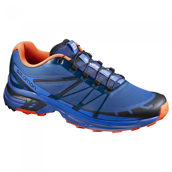 Salomon кроссовки Wings Pro 2 Nautical (blue/flam)
