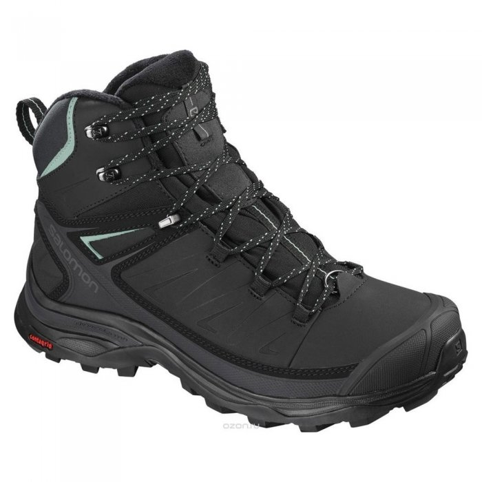 Salomon ботинки X ULTRA MID WINTER CS WP W (bk/ph)