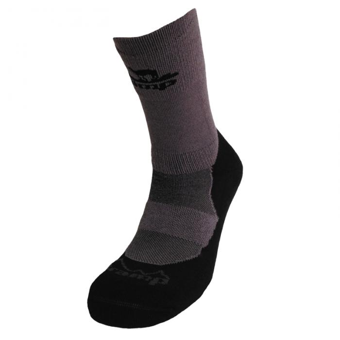 Tramp носки Outdoor Bamboo (тем.серый/черный)
