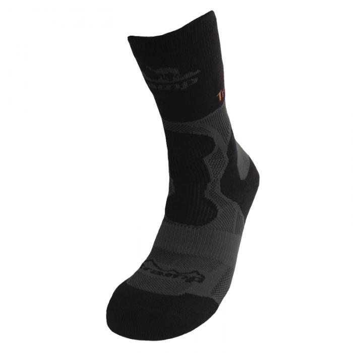 Tramp носки Outdoor Trekking Wool (черный/темно-серый)