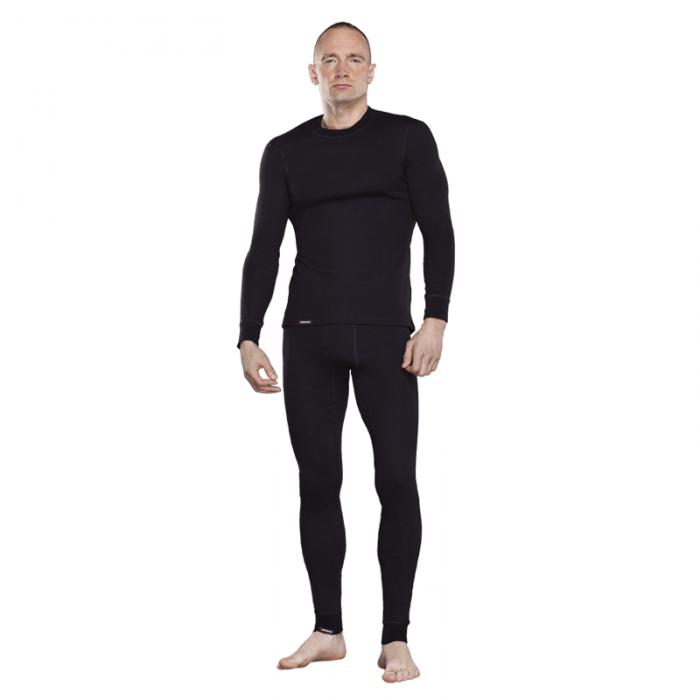Tramp футболка с длинным рукавом мужская Outdoor Walk (черный)
