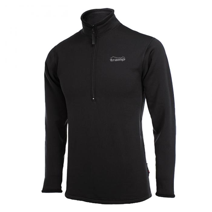 Tramp футболка с длинным рукавом Warm Stretch LN (черный)