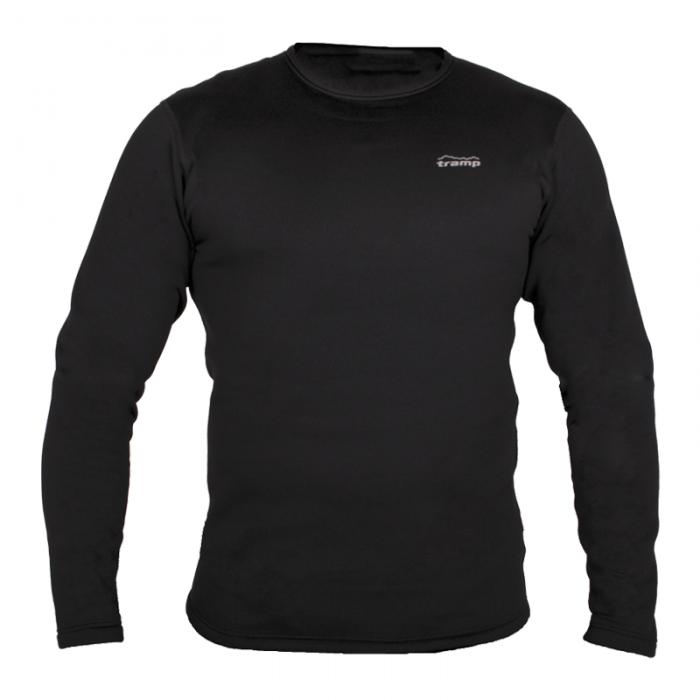 Tramp футболка с длинным рукавом Warm Stretch RN (черный)