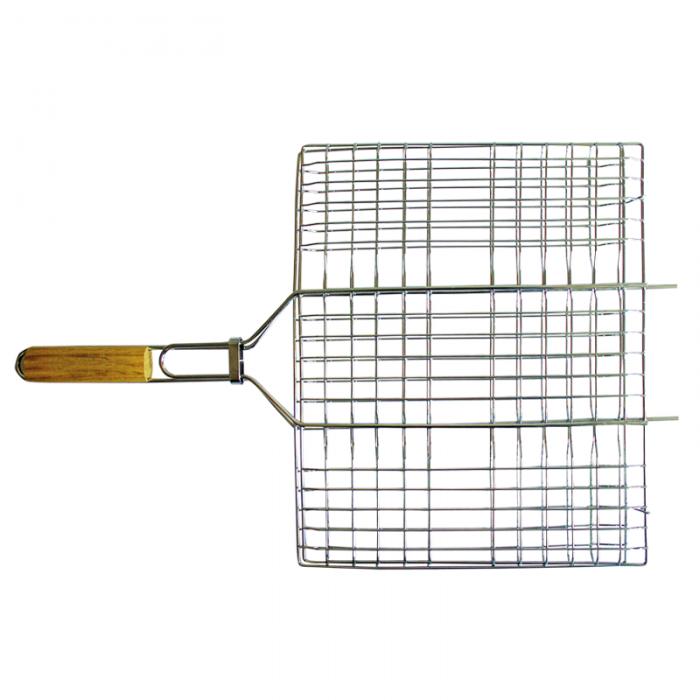 Totem решетка-гриль хром плоск малая 35*26.5см.