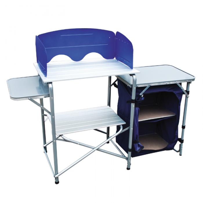 Tramp складная походная кухня TRF-021 (серый/синий)