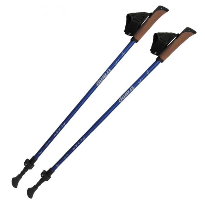Tramp палки для скандинавской ходьбы Flash (синий)