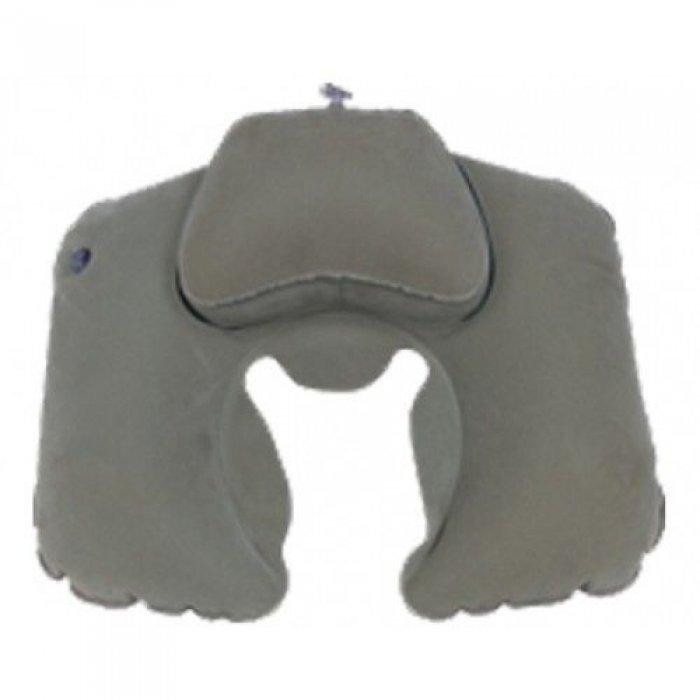 Tramp Lite подушка надувная под шею Комфорт TLA-008 (серый)