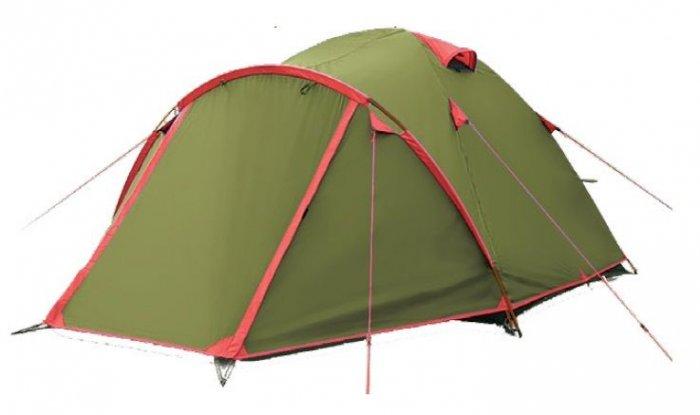 Tramp Lite палатка Camp 3 (зеленый)