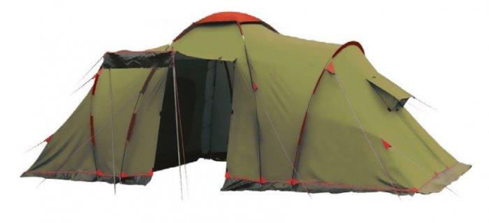 Tramp Lite палатка Castle 4 (зеленый)