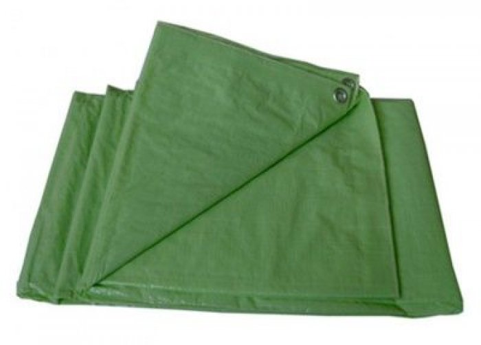 Tramp Lite тент 6х8 м (терпаулинг, зеленый)
