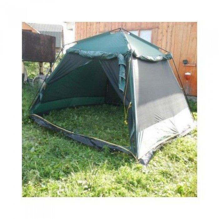 Tramp шатер Bungalow Lux (V2) (зеленый)