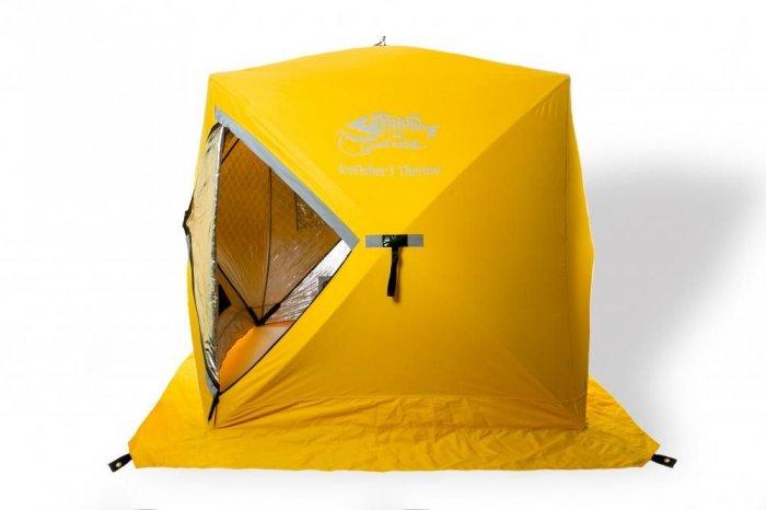 Tramp палатка IceFisher 3 Thermo (желтый)