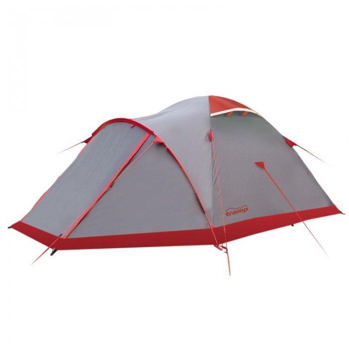 Tramp палатка Mountain 4 (V2) (серый)