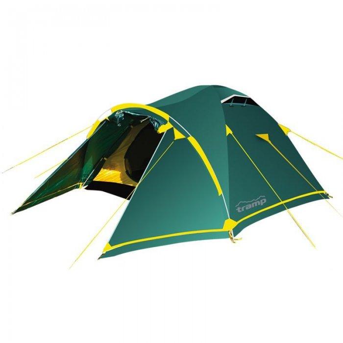 Tramp палатка Stalker 3 (V2) (зеленый)