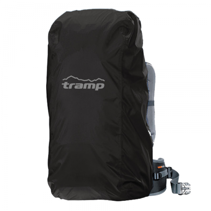 Tramp накидка на рюкзак M (30-60 л) (черный)